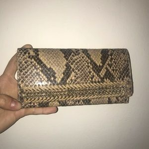 Stella McCartney Faux Snakeskin Wallet!